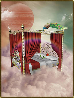 Rose Bed Poster