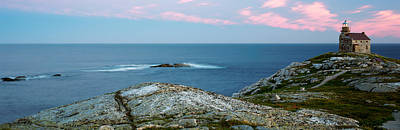 Rose Blanche Lighthouse At Coast Poster by Panoramic Images
