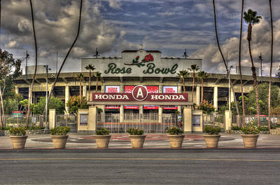 Rose Bowl Hdr Poster