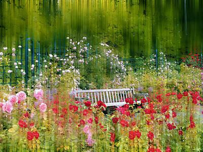 Rose Garden Impressions Poster