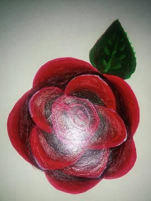 Rose Poster by Shweta Singh