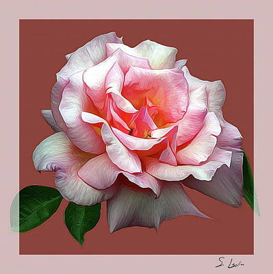 rose_1142 Metal Print Poster by S Art