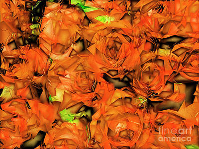 Poster featuring the photograph Roses In Abstract 20170325 by Wingsdomain Art and Photography