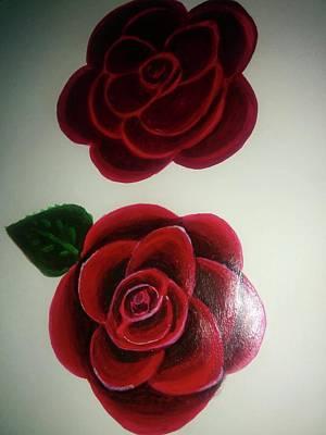 Roses Poster by Shweta Singh