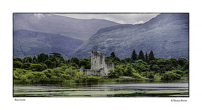 Ross Castle Poster by R Thomas Berner