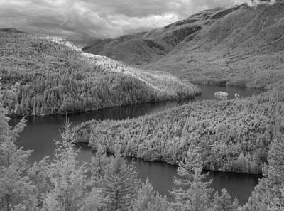 Ross Lake Ir 0503 Poster by Bob Neiman