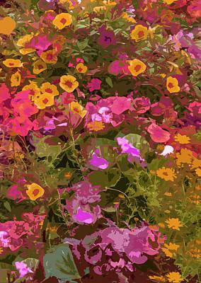 Rosy Garden Poster