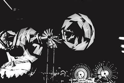 Rotating Wheels Midway Arizona State Fair Phoenix 1967 Poster