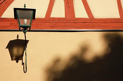 Poster featuring the photograph Rotenburg Lantern by KG Thienemann