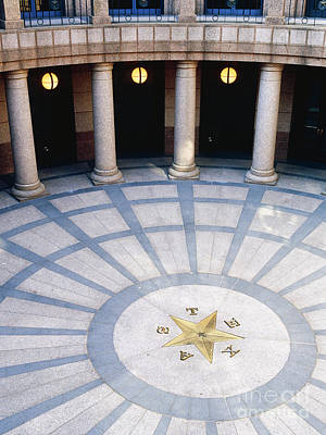 Rotunda In Texas State Capitol Poster by Jeremy Woodhouse