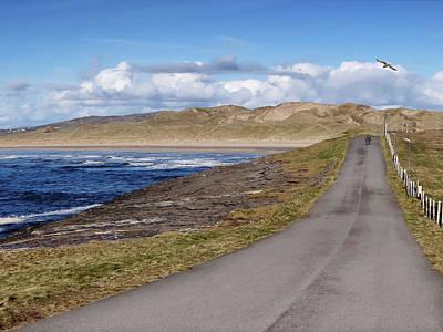 Rougey Walk - Tullan Strand - Bundoran - Stroll On The Beautiful Wild Atlantic Way, Ireland - Spring Poster