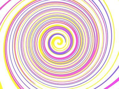 Round And Round Poster