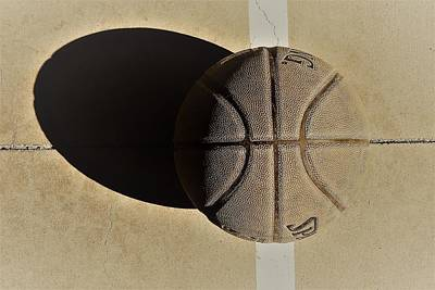 Round Ball And Shadow Poster