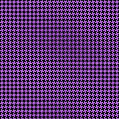 Rounded Houndstooth Black Background 30-p0123 Poster by Custom Home Fashions