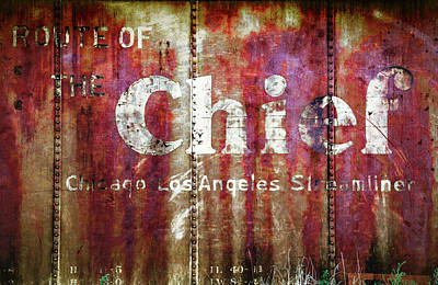 Poster featuring the photograph Route Of The Chief by Lou Novick