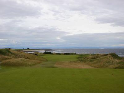 Royal Aberdeen Scotland Golf Poster by Jan Daniels