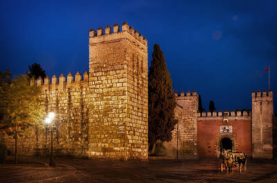 Royal Alcazars Of Seville Poster by Hernan Bua