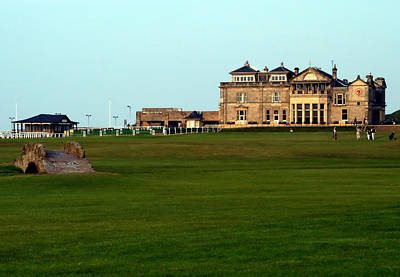 Royal And Ancient Golf Club At St Andrews Poster by Lyle  Huisken