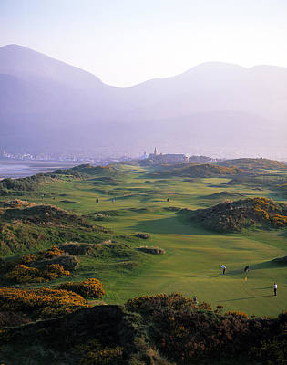 Royal County Down Golf Club In Front Poster