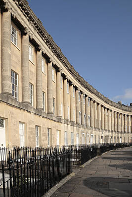 Royal Crescent, Bath, Avon Poster by Anthony Collins