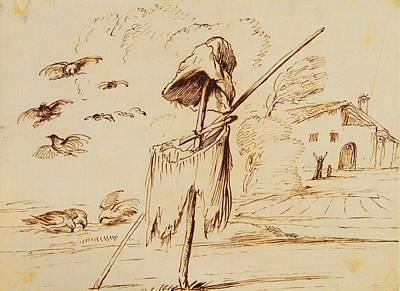 Royal Guercino Scarecrow Poster