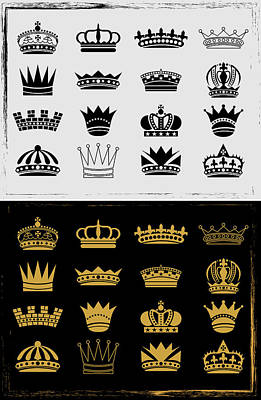 Royal Luxury Crown Poster