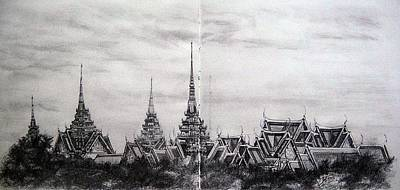 Royal Palace Poster by Ann Supan