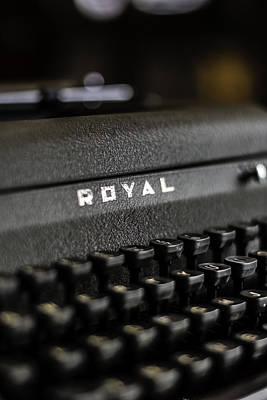 Royal Typewriter #19 Poster