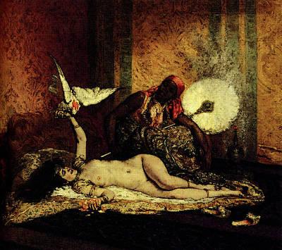 Roybet Ferdinand Odalisque Poster