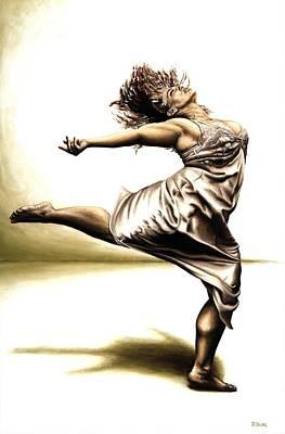 Rubinesque Dancer Poster