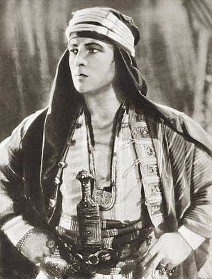 Rudolph Valentino, 1895 Poster by Vintage Design Pics