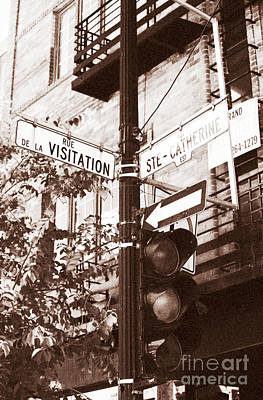 Rue Visitation Poster by John Rizzuto