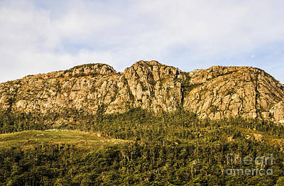 Rugged Australian Mountains Poster by Jorgo Photography - Wall Art Gallery