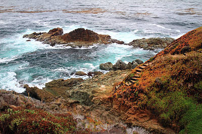 Rugged Coastline Poster by Pierre Leclerc Photography