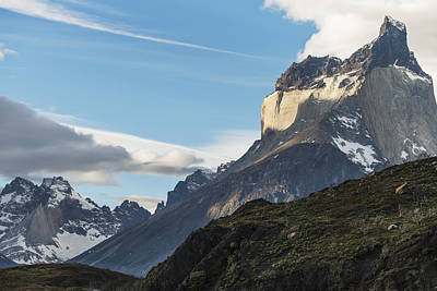 Rugged Mountains Of Torres Del Paine Poster