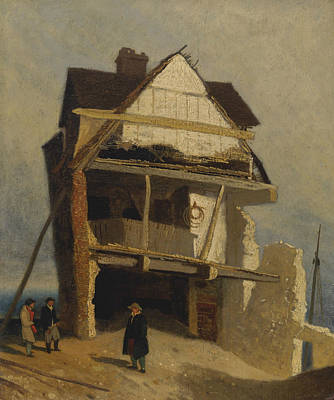 Ruined House  Poster by John Sell Cotman