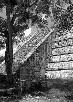 Ruins At Chichen Itza 1 Poster