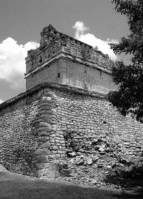 Ruins At Chichen Itza 2 Poster