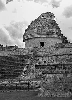 Ruins At Chichen Itza 3 Poster