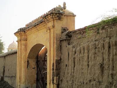 Ruins Of Daulat Palace. Poster by Khalid Saeed