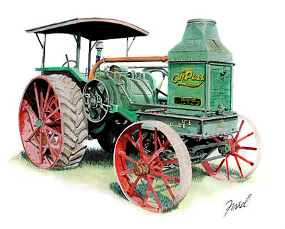 Rumely Oil Pull 2040 Poster