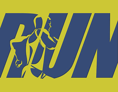 Run 5 Poster by Joe Hamilton