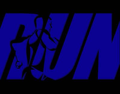 Run 6 Poster by Joe Hamilton