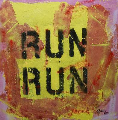 Run Run Poster by Gh FiLben