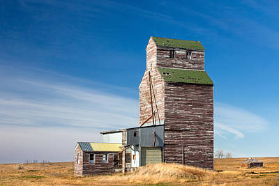 Rural Landmark Poster by Todd Klassy