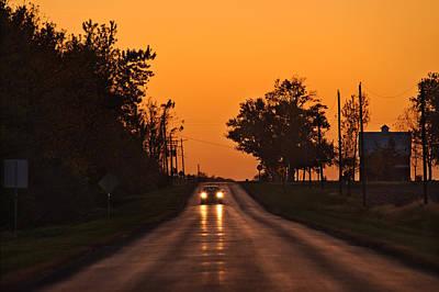 Rural Road Trip Poster by Steve Gadomski