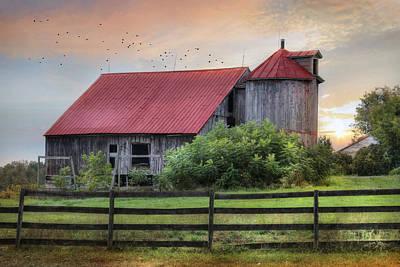 Rural Vermont Poster by Lori Deiter