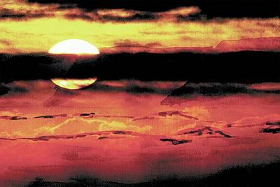 Russet Sunset Poster