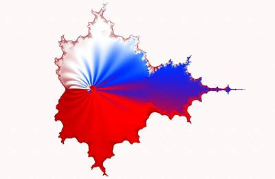 Russian Fractal Curve Poster