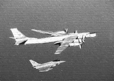 Russian Plane Graffiti Poster by Roy Pedersen